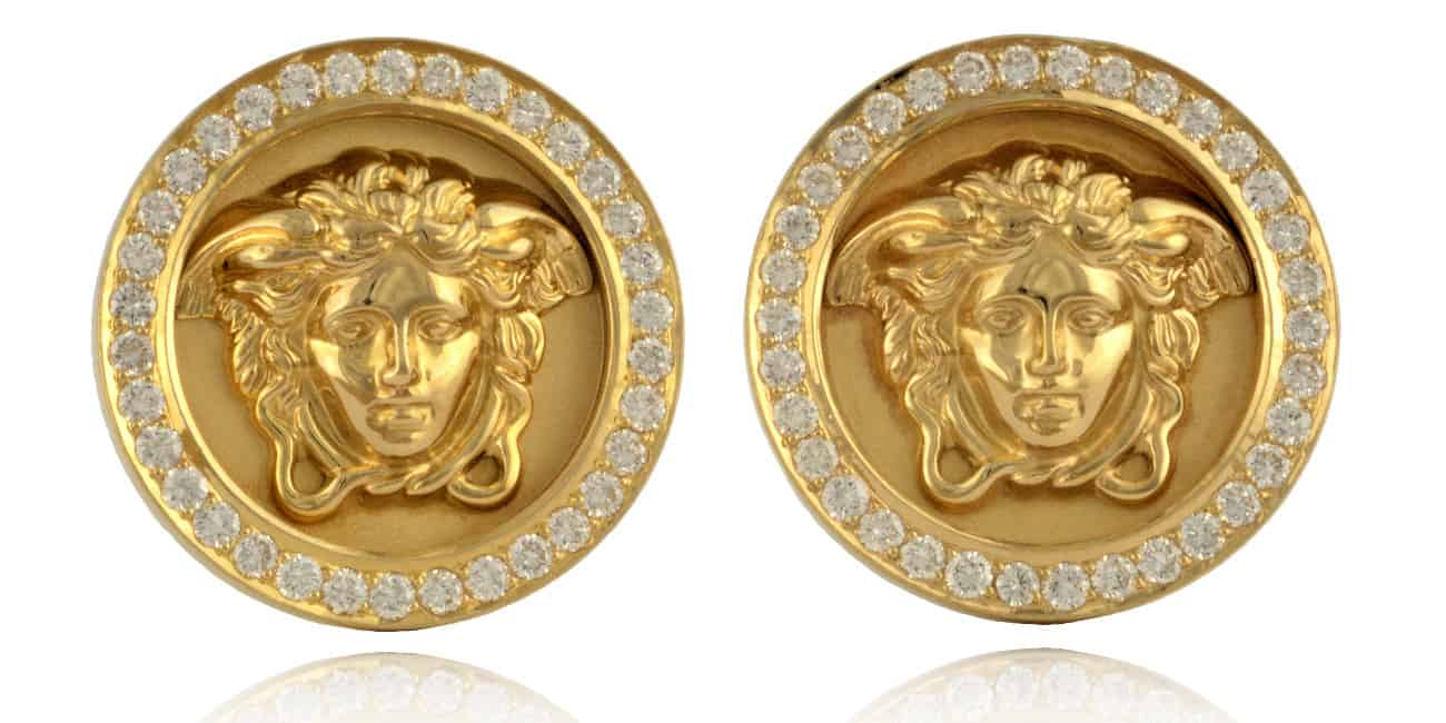 Versace Diamond Earrings Image
