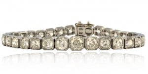 Art Deco Diamond Bracelet Image