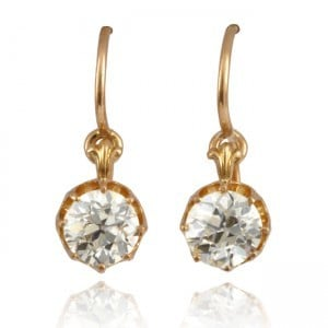 Antique Diamond Earrings Image