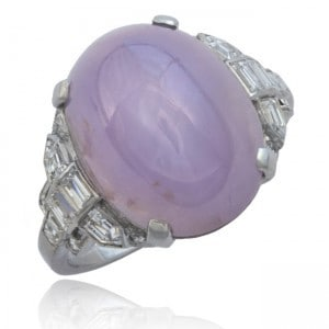 Star Sapphire & Diamond Ring, by Tiffany Image