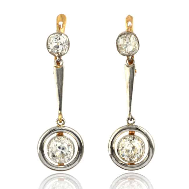 Diamond Pendant-style Earrings 7-308 Image