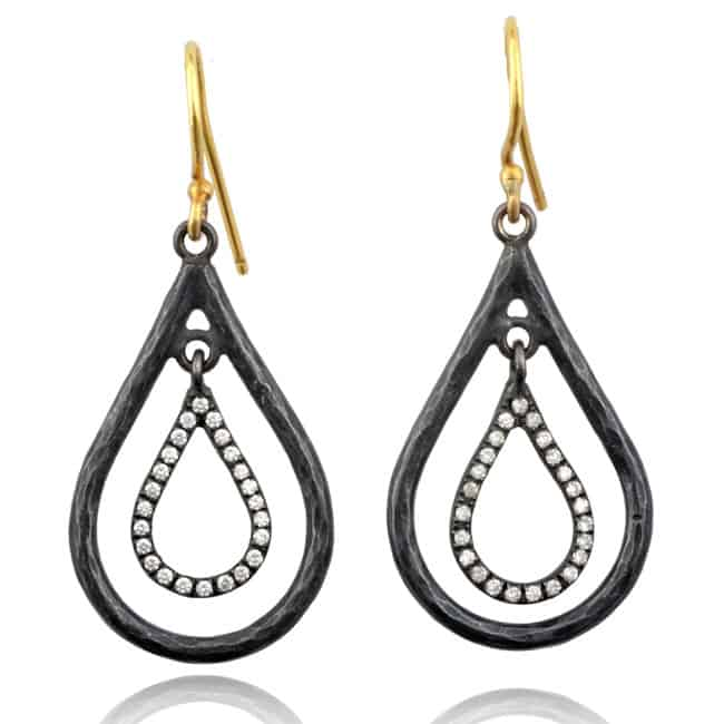 Raindrop Diamond Earrings 17-2088 Image
