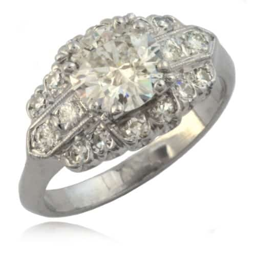 Art Deco Diamond Ring 11-268 Image