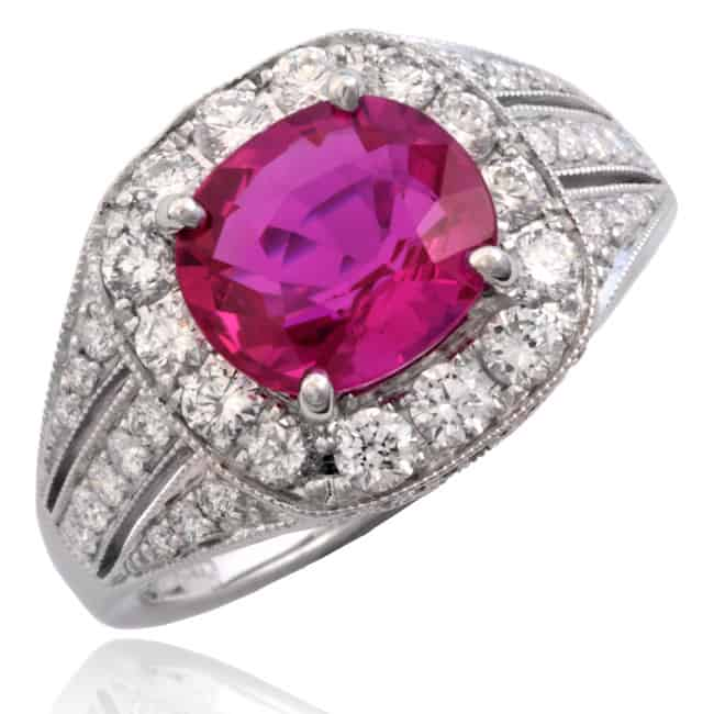 Ruby & Diamond Ring Image