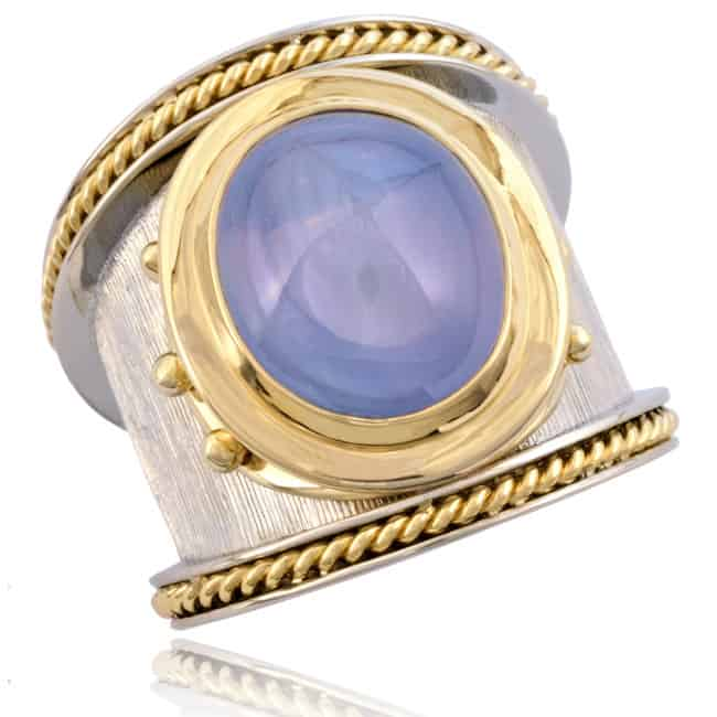 Blue Star Sapphire Ring 23-904 Image