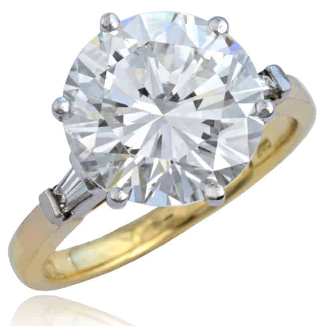 Vintage Diamond Ring 6-329 Image