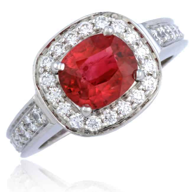 Ruby & Diamond Ring 23-721 Image