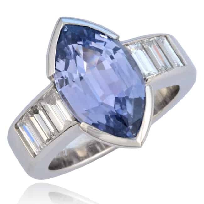 Marquise Sapphire Ring 23-853A Image