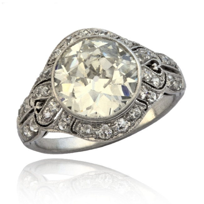 Edwardian Diamond Ring 6-236 Image