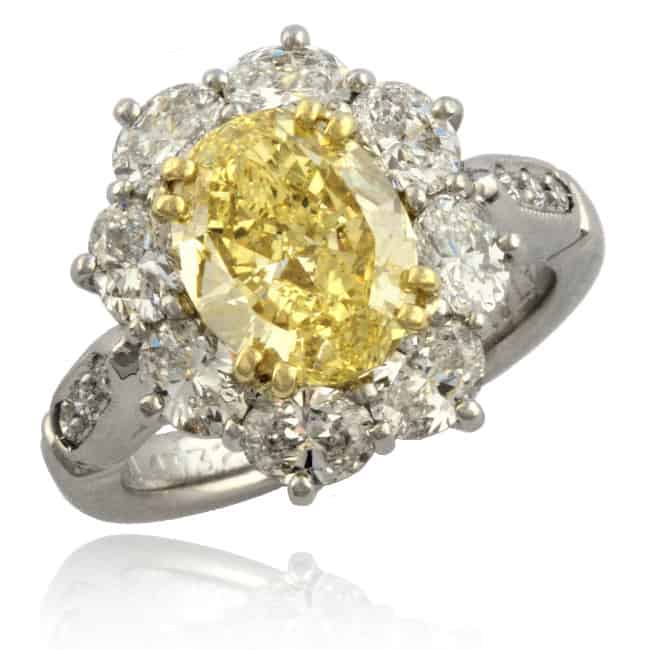 Fancy Yellow Diamond Ring 6-263 Image